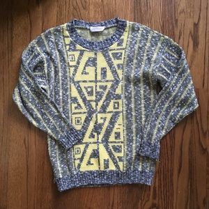 ARIELLE Graphic Knit Sweater M